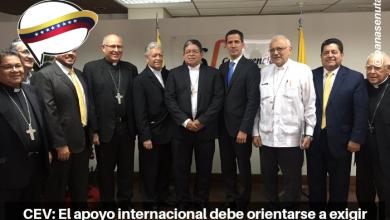 Photo of CEV: El apoyo internacional debe orientarse a exigir al gobierno la realización de elecciones libres.