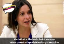 Photo of María Corina Machado: La AN siempre estuvo penetrada por infiltrados y corrupción