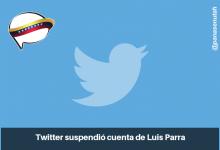 Photo of Twitter suspendió cuenta de Luis Parra.