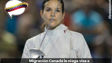 Photo of Migración Canadá le niega visa a deportista Alejandra Benítez.