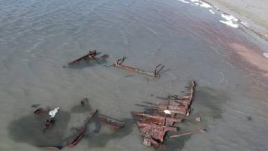 Photo of ¡Curioso! Hallan restos de un barco del siglo XX en Utah