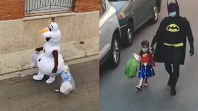 Photo of Se disfraza para sacar la basura y se vuelve viral