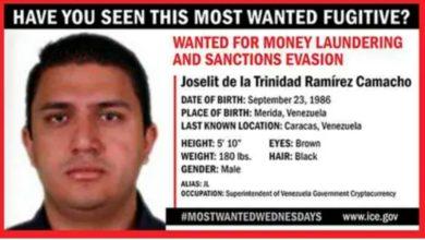 Photo of EEUU ofrece 5 millones de dólares por la captura de funcionario venezolano cercano a Tareck el Aissami