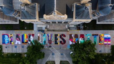 Photo of Terminado mural #BlackLivesMatter en Salt Lake City