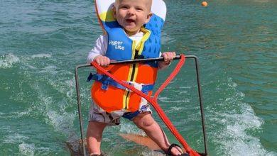 Photo of Te alegrará el día: Rich, el bebé de seis meses que hace esquí en Utah y ahora recorre el mundo (+VIDEO)