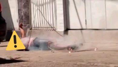 Photo of Mujer muere electrocutada al caerle cable de electricidad mientras iba caminando en La Isabelica