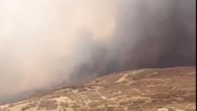 Photo of Incendio en el condado Utah obligó a evacuaciones y al cierre del Provo Canyon
