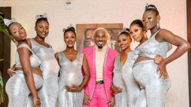 Photo of Hombre nigeriano asiste a boda con sus seis novias embarazadas y roba protagonismo a los novios